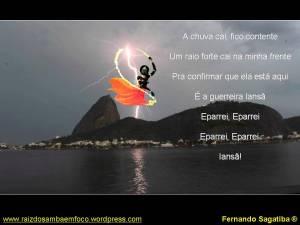 Foto: Domingos Peixoto / Agência O Globo.Montagem minha mesmo. Trecho de Os Orixás (Monobloco).